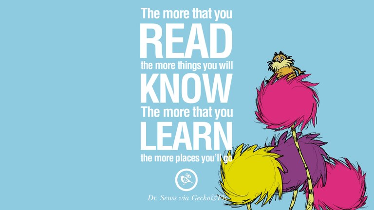 Dr seuss quotes. 😱 51 Incredible Dr. Seuss Quotes to Boost ...